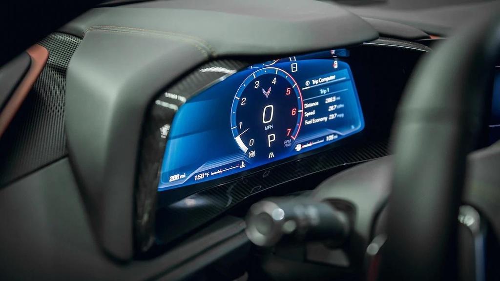 danh gia noi that sieu xe Chevrolet Corvette C8 2020 anh 9
