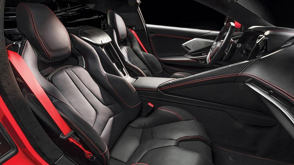 danh gia noi that sieu xe Chevrolet Corvette C8 2020 anh 11