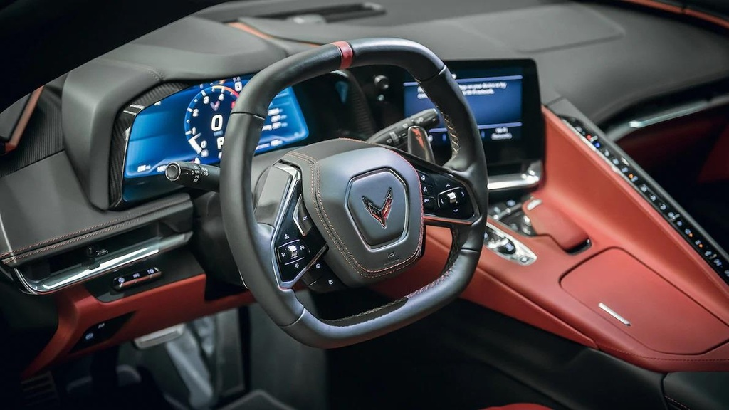 danh gia noi that sieu xe Chevrolet Corvette C8 2020 anh 15