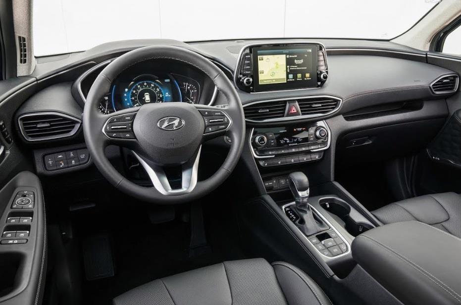 Hyundai Santa Fe 2020 ke thua gi tu dan anh Palisade? hinh anh 7