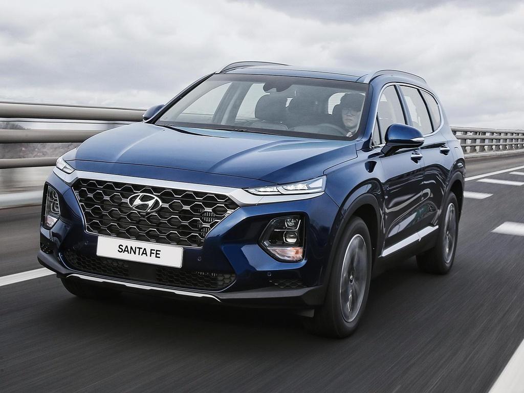 Hyundai Santa Fe 2020 ke thua gi tu dan anh Palisade? hinh anh 1
