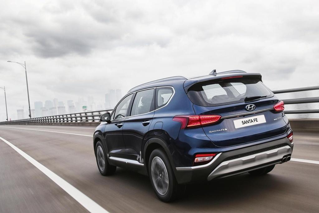 Hyundai Santa Fe 2020 ke thua gi tu dan anh Palisade? hinh anh 2