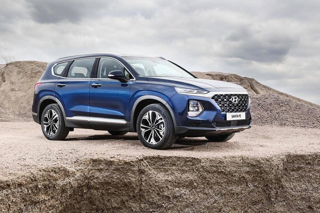 Hyundai Santa Fe 2020 ke thua gi tu dan anh Palisade? hinh anh 3