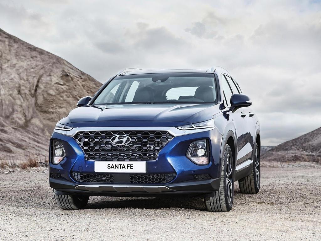 Hyundai Santa Fe 2020 ke thua gi tu dan anh Palisade? hinh anh 4