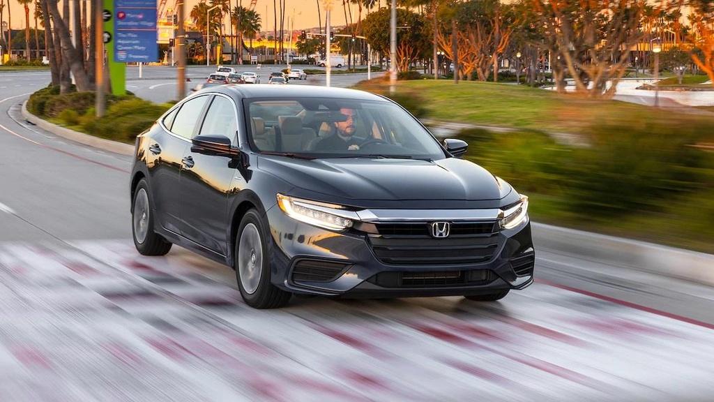 Danh gia Honda Insight 2019 - dan anh Civic, dan em Accord hinh anh 10