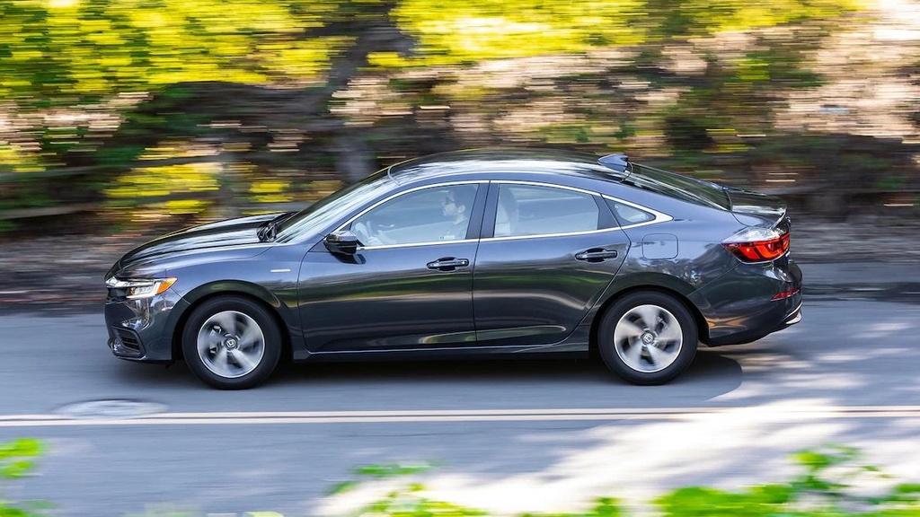 Danh gia Honda Insight 2019 - dan anh Civic, dan em Accord hinh anh 14