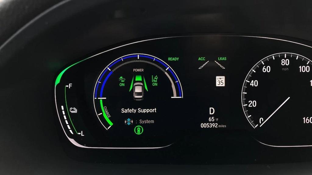 Danh gia Honda Insight 2019 - dan anh Civic, dan em Accord hinh anh 4