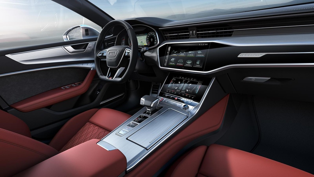 Danh gia nhanh Audi S7 2020 - 'ten lua hanh trinh' 444 ma luc hinh anh 10