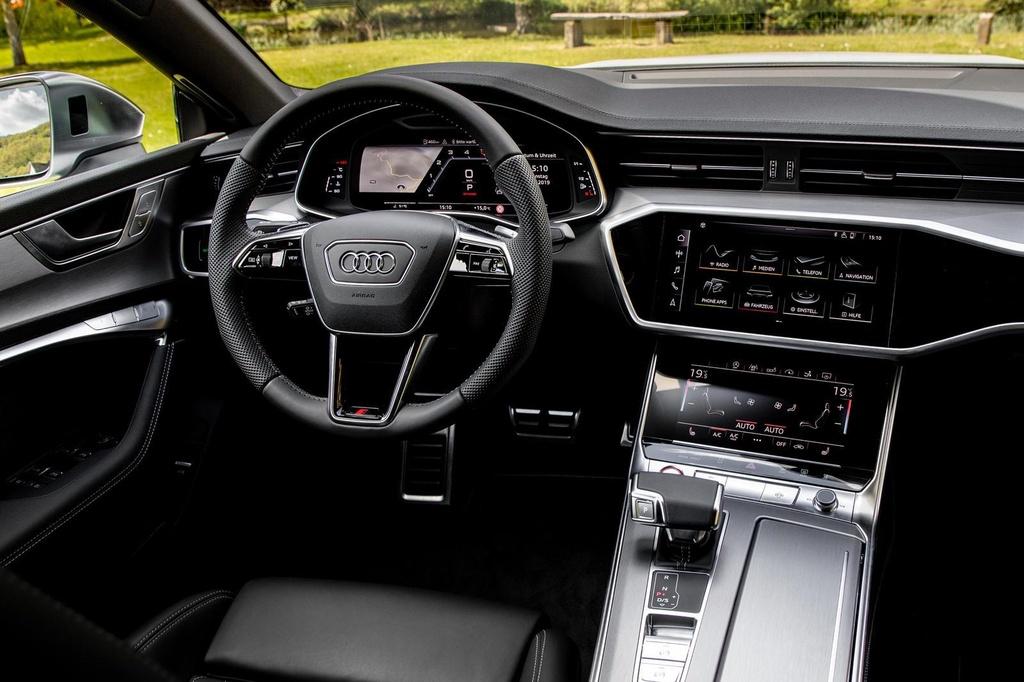 Danh gia nhanh Audi S7 2020 - 'ten lua hanh trinh' 444 ma luc hinh anh 12