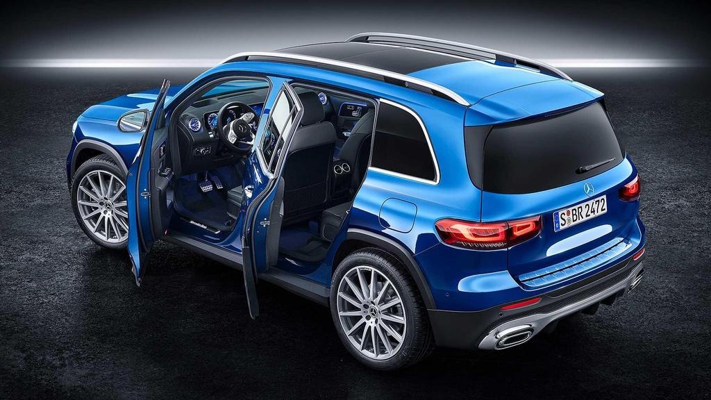 Mercedes-Benz GLB 2020, xe sang 7 cho gia hap dan hinh anh 2