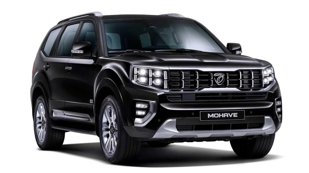 SUV moi Kia Mohave 2020 lo anh chinh thuc anh 1