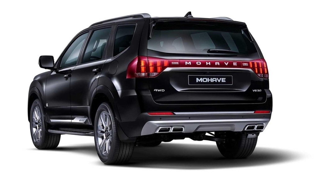 SUV moi Kia Mohave 2020 lo anh chinh thuc anh 2