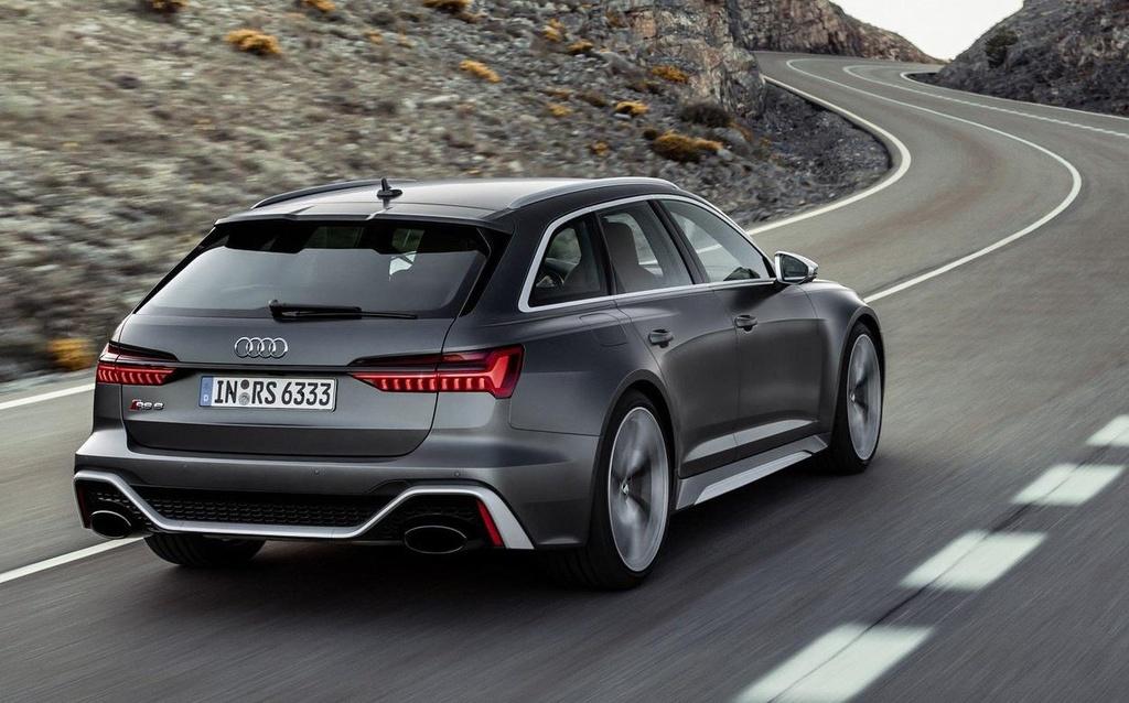 Audi RS 6 Avant 2020 sap ra mat, trong binh thuong nhung 'cuc manh' hinh anh 2