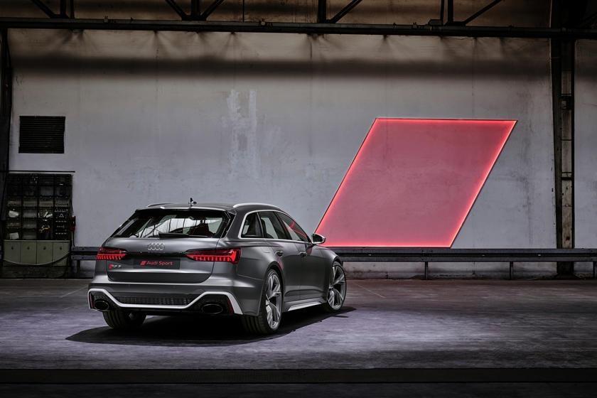 Audi RS6 dau voi Mercedes-AMG E63 - tran chien xe gia dinh hang sang hinh anh 3