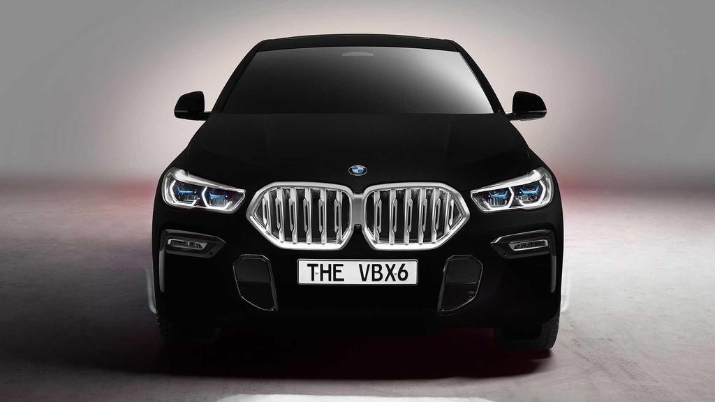 BMW X6 ban dac biet so huu mau son toi nhat the gioi hinh anh 1