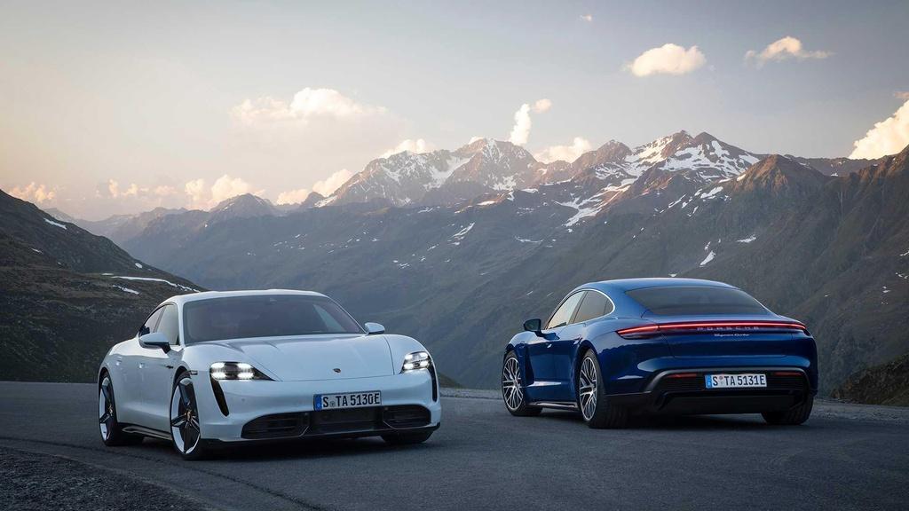 Porsche Taycan 2020 ra mat anh 1