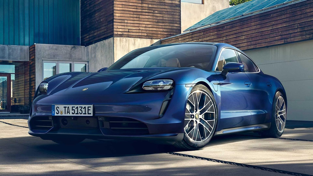 Porsche Taycan 2020 ra mat anh 2