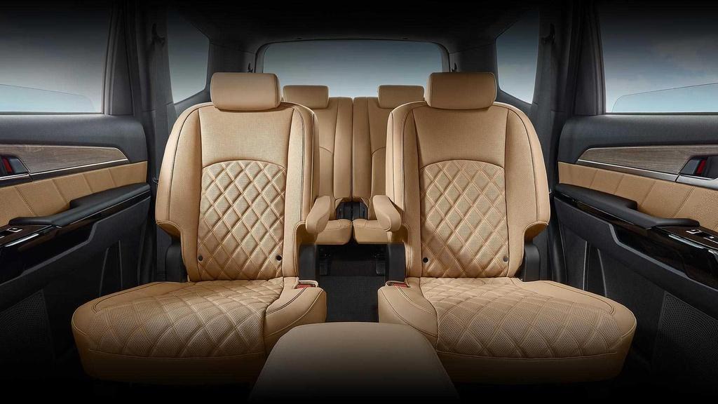 Kham kha noi that cua SUV 7 cho moi Kia Mohave 2020 hinh anh 3
