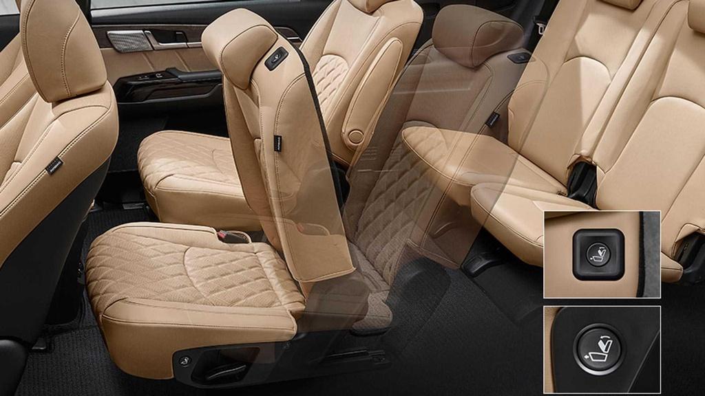 Kham kha noi that cua SUV 7 cho moi Kia Mohave 2020 hinh anh 4