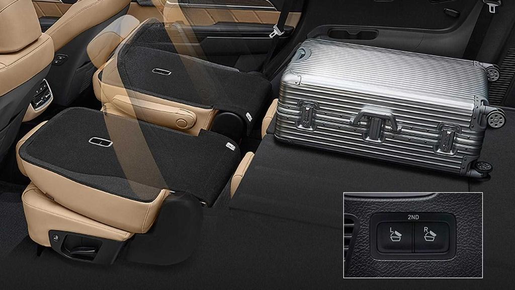 Kham kha noi that cua SUV 7 cho moi Kia Mohave 2020 hinh anh 5