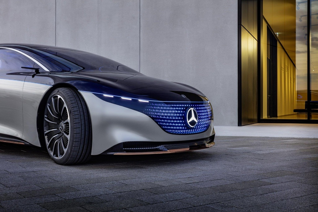 concept xe dien tuong lai cua Mercedes anh 2