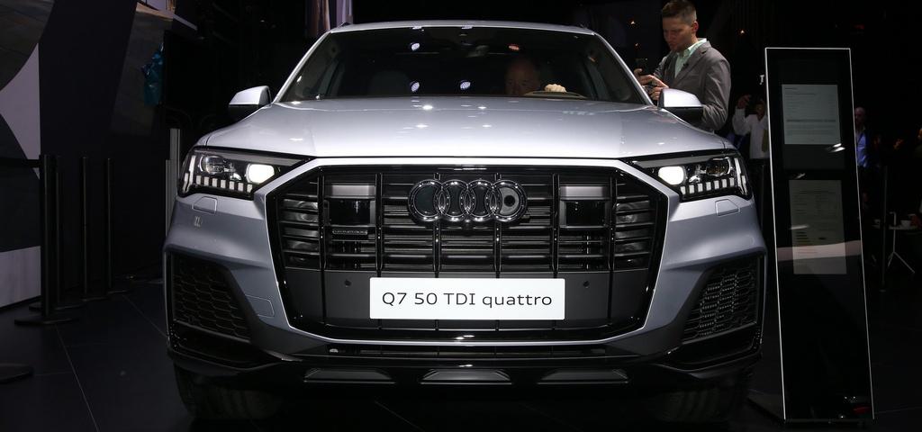 Audi Q7 2020 xuat hien, noi that sang va hien dai hinh anh 2