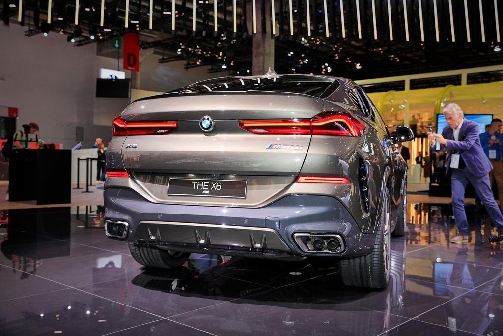BMW X6 the he moi lo dien, 'qua than' ham ho, suc manh an tuong hinh anh 2