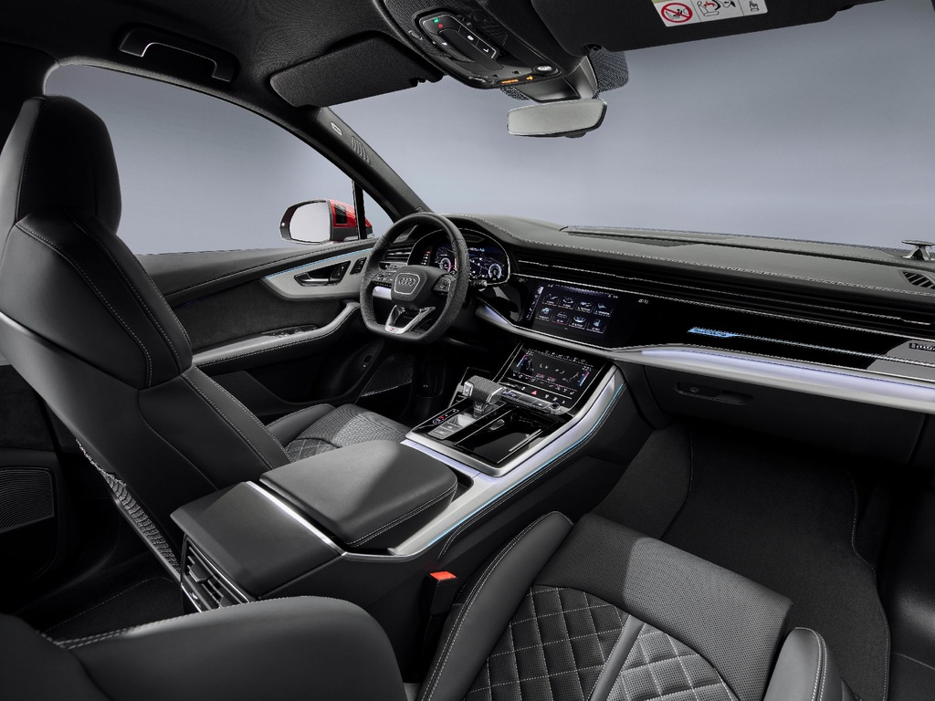 Audi Q7 2020 xuat hien, noi that sang va hien dai hinh anh 6