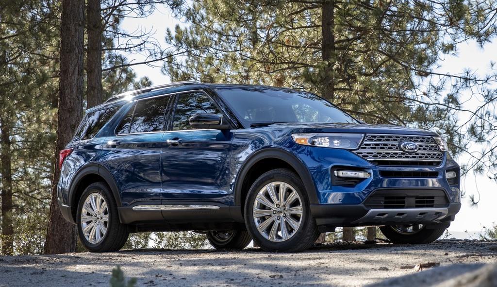 Kia Telluride 2020 dau voi Ford Explorer 2020 - bai binh phuc han hinh anh 10