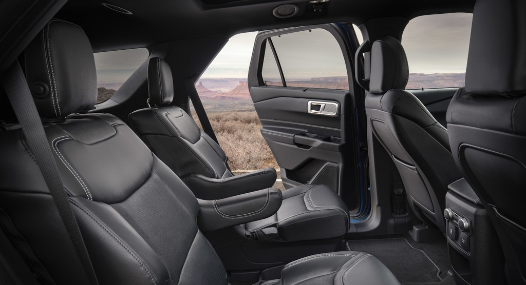 Kia Telluride 2020 dau voi Ford Explorer 2020 - bai binh phuc han hinh anh 18