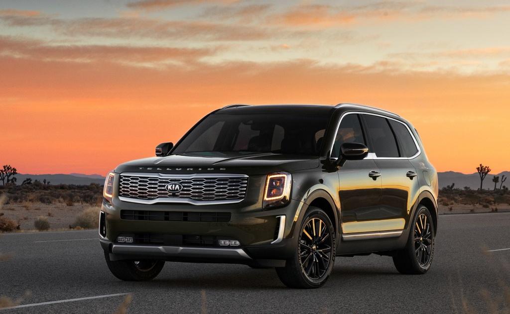 Kia Telluride 2020 dau voi Ford Explorer 2020 - bai binh phuc han hinh anh 3