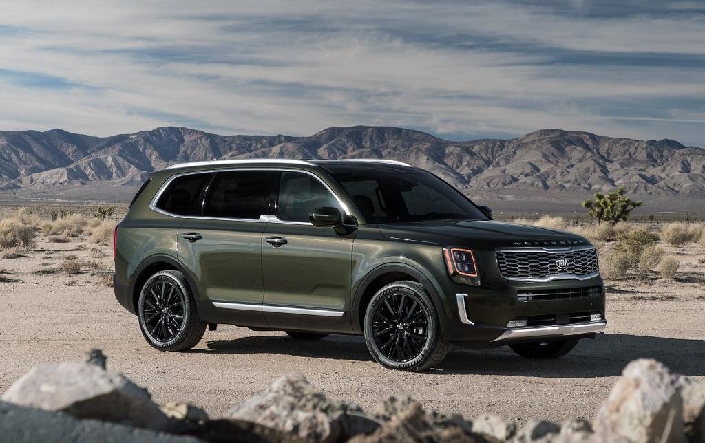Kia Telluride 2020 dau voi Ford Explorer 2020 - bai binh phuc han hinh anh 11