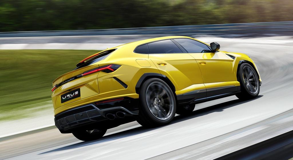 Khi sieu SUV Lamborghini Urus bien thanh xe dua hinh anh 8