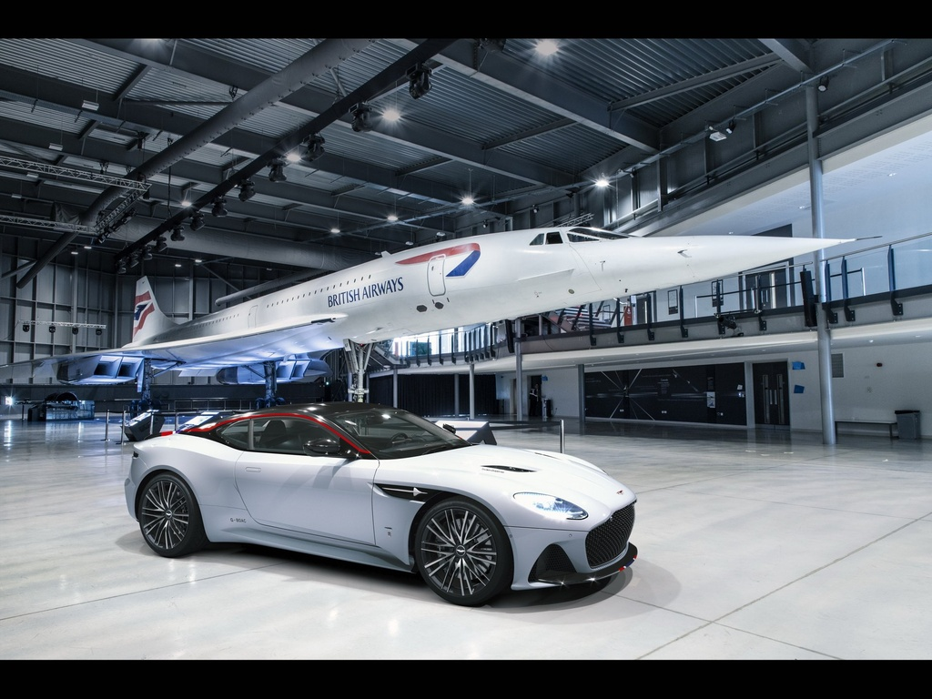 Sieu xe Aston Martin ky niem may bay sieu thanh Concorde ra mat hinh anh 1
