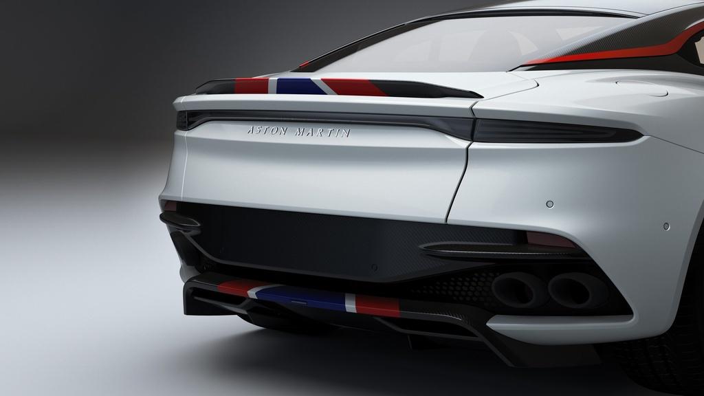 Sieu xe Aston Martin ky niem may bay sieu thanh Concorde ra mat hinh anh 9