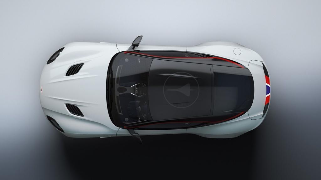 Sieu xe Aston Martin ky niem may bay sieu thanh Concorde ra mat hinh anh 10