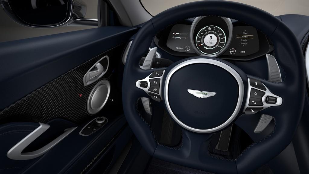 Sieu xe Aston Martin ky niem may bay sieu thanh Concorde ra mat hinh anh 14