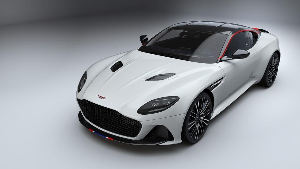 Sieu xe Aston Martin ky niem may bay sieu thanh Concorde ra mat hinh anh 5