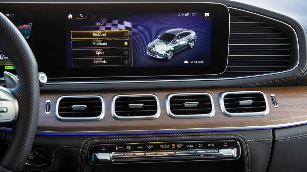 Lai thu Mercedes-AMG GLE 53 Coupe 2021 - xe manh nhung nang ne hinh anh 30