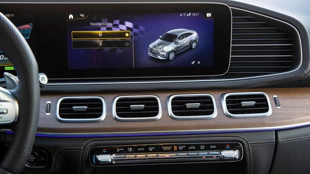 Lai thu Mercedes-AMG GLE 53 Coupe 2021 - xe manh nhung nang ne hinh anh 32