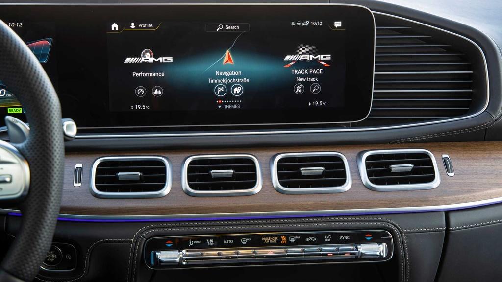 Lai thu Mercedes-AMG GLE 53 Coupe 2021 - xe manh nhung nang ne hinh anh 27