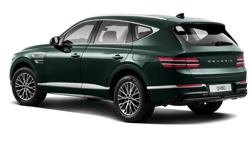 SUV hang sang cua Hyundai lo dien, chua ro gia ban hinh anh 8 2020_Genesis_GV80_1.jpg