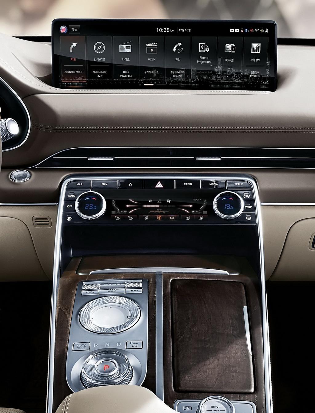 SUV hang sang cua Hyundai lo dien, chua ro gia ban hinh anh 11 2020_Genesis_GV80_11.jpg
