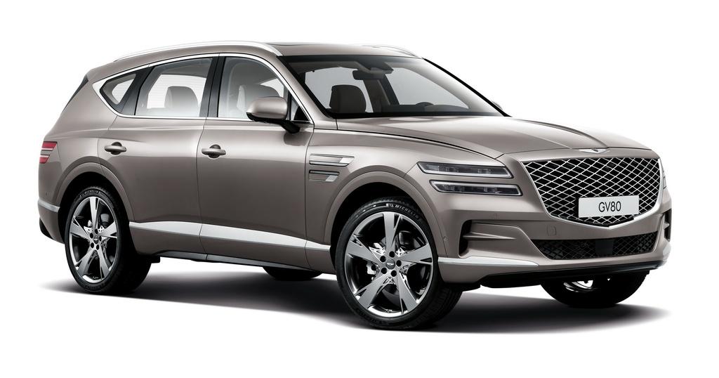 SUV hang sang cua Hyundai lo dien, chua ro gia ban hinh anh 9 2020_Genesis_GV80_3.jpg