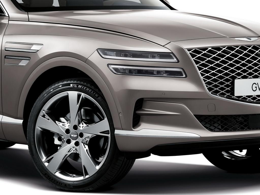 SUV hang sang cua Hyundai lo dien, chua ro gia ban hinh anh 7 2020_Genesis_GV80_4.jpg
