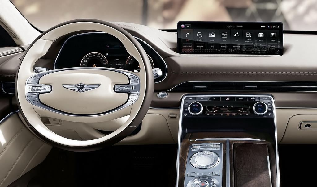 SUV hang sang cua Hyundai lo dien, chua ro gia ban hinh anh 5 2020_Genesis_GV80_9.jpg