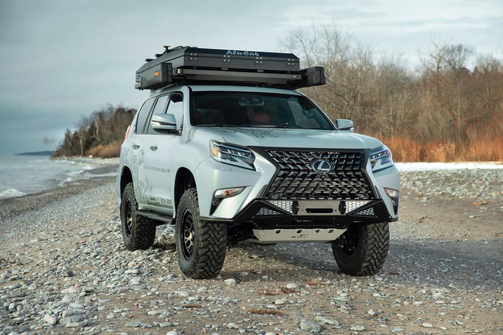 Concept SUV off-road cua Lexus - xe hang sang ham ho hinh anh 1 Lexus_GX_Overland_Concept_6.jpg