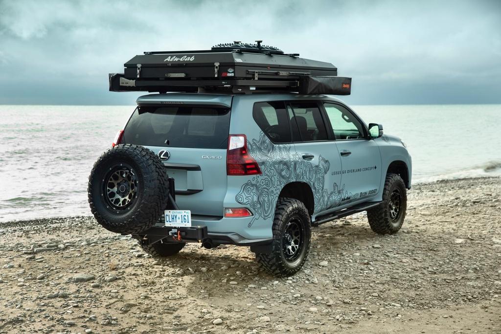 Concept SUV off-road cua Lexus - xe hang sang ham ho hinh anh 3 Lexus_GX_Overland_Concept_9.jpg