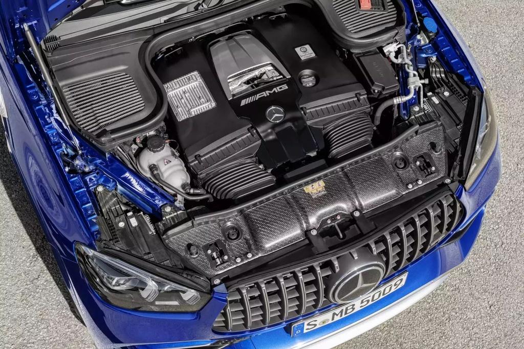 Động cơ Mercedes-AMG GLS 2021.