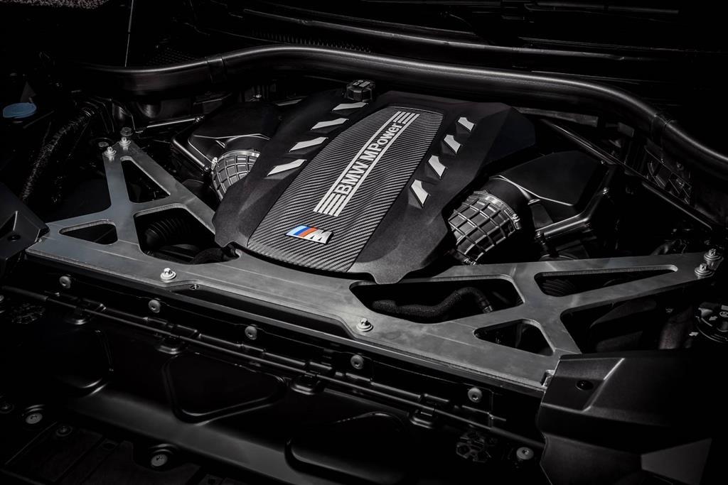 Động cơ BMW X6 M 2020.
